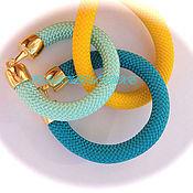 """Украшения ручной работы. Ярмарка Мастеров - ручная работа Браслетик  """"Textile snake"""". Handmade."""