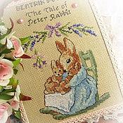 Для дома и интерьера handmade. Livemaster - original item There once was a rabbit named Peter push, the box-book. Handmade.