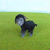 """Куклы и игрушки ручной работы. Ярмарка Мастеров - ручная работа Игрушка """"Барашек Чёрный"""". Handmade."""