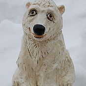 Для дома и интерьера handmade. Livemaster - original item Polar bear. Handmade.