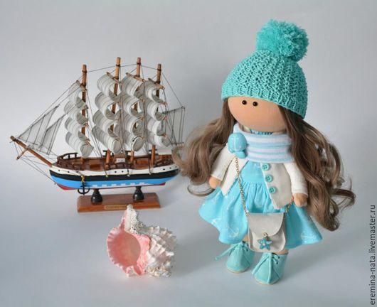 Куклы тыквоголовки ручной работы. Ярмарка Мастеров - ручная работа. Купить Текстильная куколка Ириша. Handmade. Кукла ручной работы
