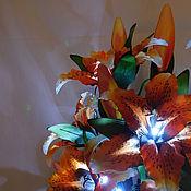 Для дома и интерьера handmade. Livemaster - original item Outdoor bouquet lamp