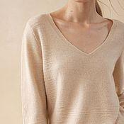 Одежда handmade. Livemaster - original item Cashmere jumper knitted Pastelly. Handmade.