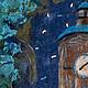 """Дизайн интерьеров ручной работы. Панно валяное """"Башня"""". tanasha (Наталья Цыганова). Интернет-магазин Ярмарка Мастеров. Настенное панно"""