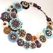 Украшения handmade. Livemaster - original item Dessert Turquoise. necklace. Handmade.