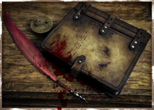 Подарки для мужчин, ручной работы. Ярмарка Мастеров - ручная работа. Купить Старый блокнот. Handmade. Блокнот ручной работы