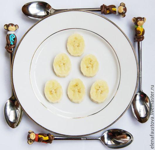 Миниатюрные модели ручной работы. Ярмарка Мастеров - ручная работа. Купить Ложка с обезьянкой. Handmade. Ложка, сувенир, кухня