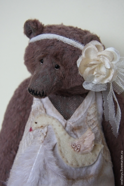 Мишки Тедди ручной работы. Ярмарка Мастеров - ручная работа. Купить Балеринка. Handmade. Коричневый, авторская ручная работа