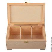 Материалы для творчества handmade. Livemaster - original item 241410 (3) box 24 14 10 with 3 vertical cells. Handmade.