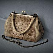 Сумки и аксессуары handmade. Livemaster - original item Handbag bag W0073.