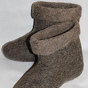 Обувь ручной работы. Ярмарка Мастеров - ручная работа Лечебные полуваленки с пухом. Handmade.