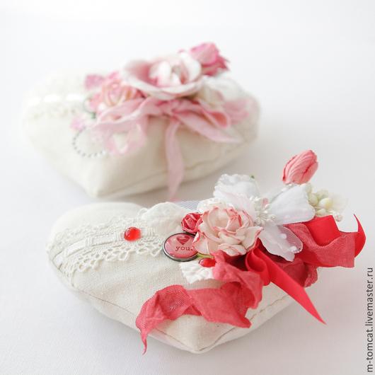 Подарки для влюбленных ручной работы. Ярмарка Мастеров - ручная работа. Купить Мягкая валентинка. Handmade. Сердце, День Святого Валентина