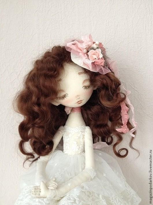 Коллекционные куклы ручной работы. Ярмарка Мастеров - ручная работа. Купить Кукла Тростинка Валери. Handmade. Интерьерная кукла, для интерьера