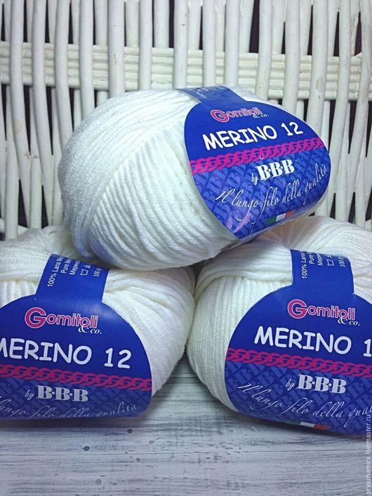 Вязание ручной работы. Ярмарка Мастеров - ручная работа. Купить ВВВ merino 12 (Италия). Handmade. Пряжа, пряжа для вязания