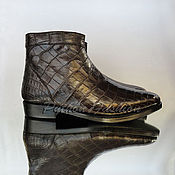 Обувь ручной работы handmade. Livemaster - original item Boots of the crocodile DALLAS. Handmade.
