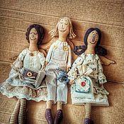 Чердачная кукла ручной работы. Ярмарка Мастеров - ручная работа Винтажный ангел примитивы чердачная кукла. Handmade.