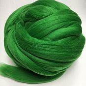 Материалы для творчества handmade. Livemaster - original item Australian Merino Meadow. Germany.19 MD. wool for felting. Handmade.