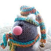 Куклы и игрушки ручной работы. Ярмарка Мастеров - ручная работа Вязаный котик:). Handmade.