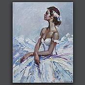 Картины и панно handmade. Livemaster - original item Ballerina - Original oil painting. Handmade.