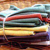 Материалы для творчества handmade. Livemaster - original item the fabric is a linen flap for creativity. Handmade.