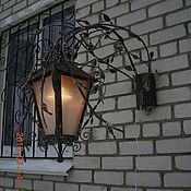 Для дома и интерьера ручной работы. Ярмарка Мастеров - ручная работа Фонарь уличный настенный. Handmade.