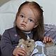 Куклы-младенцы и reborn ручной работы. Ярмарка Мастеров - ручная работа. Купить Кукла реборн Дашенька. Handmade. Бежевый, мохер