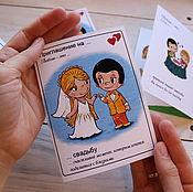 Приглашения ручной работы. Ярмарка Мастеров - ручная работа Пригласительные на свадьбу Love is. Handmade.
