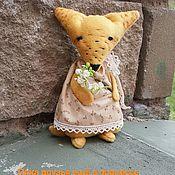 Куклы и игрушки ручной работы. Ярмарка Мастеров - ручная работа Лисичка Морковка. Handmade.