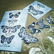 Материалы для творчества ручной работы. Ярмарка Мастеров - ручная работа Набор для творчества Бабочки. Handmade.