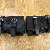 Дорожная сумка ручной работы. Ярмарка Мастеров - ручная работа Кофры на раму для Harley Davidson v-rod. Handmade.