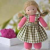 Куклы и игрушки ручной работы. Ярмарка Мастеров - ручная работа Вальдорфская кукла Малинка, 30 см. Handmade.