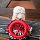 """Народные куклы ручной работы. Ярмарка Мастеров - ручная работа. Купить """"Спиридон Солнцеворот"""" кукла-оберег.. Handmade. Ярко-красный"""