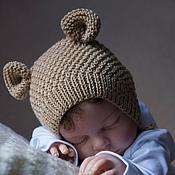 """Работы для детей, ручной работы. Ярмарка Мастеров - ручная работа """"Моя первая шапочка """" Ушастик. Handmade."""