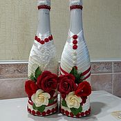 "Бутылки ручной работы. Ярмарка Мастеров - ручная работа Бутылки: "" Кармен "". Handmade."