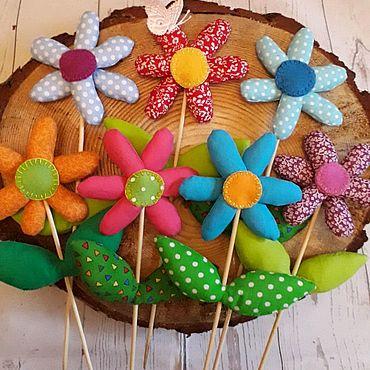Куклы и игрушки ручной работы. Ярмарка Мастеров - ручная работа Тильда-цветок. Handmade.