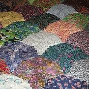 """Для дома и интерьера ручной работы. Ярмарка Мастеров - ручная работа Лоскутное одеяло """"Фейерверк"""". Handmade."""
