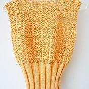 Одежда handmade. Livemaster - original item Knitted vest made of wool. Handmade.