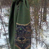 Палантины ручной работы. Ярмарка Мастеров - ручная работа Мужской шарф. Handmade.