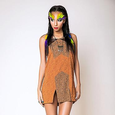 Одежда ручной работы. Ярмарка Мастеров - ручная работа Сарафан в индейском стиле. Handmade.