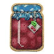 """Материалы для творчества ручной работы. Ярмарка Мастеров - ручная работа Набор для вышивания  магнита """"Вишневое варенье"""" BB-57. Handmade."""
