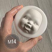 Материалы для творчества handmade. Livemaster - original item Mold M14 (form for making the face). Handmade.