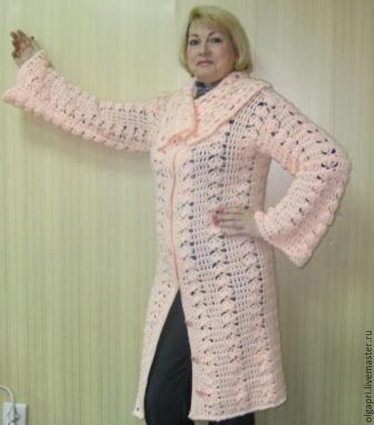 """Кофты и свитера ручной работы. Ярмарка Мастеров - ручная работа. Купить кардиган """"Цветущий персик"""". Handmade. Кардиган вязаный"""