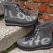 Обувь ручной работы handmade. Livemaster - original item Felted shoes mens