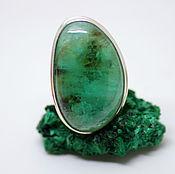 Украшения handmade. Livemaster - original item An emerald ring