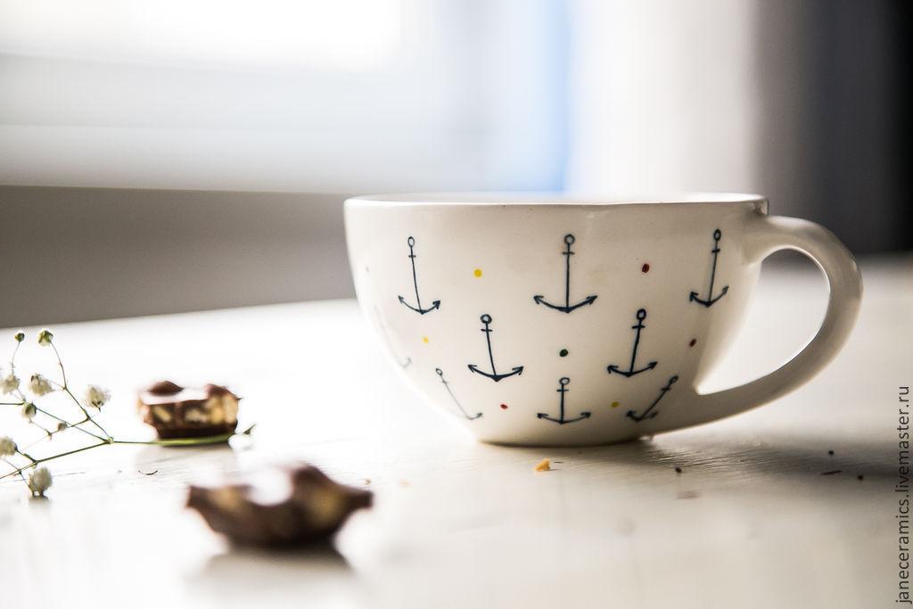 Jung. Cup handmade ceramics, Mugs and cups, Zhukovsky,  Фото №1