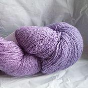 Пряжа ручной работы. Ярмарка Мастеров - ручная работа Кауни Lilac Light 8/2 однотонный. Handmade.