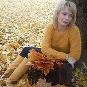 Одежда ручной работы. Ярмарка Мастеров - ручная работа Кофточка-Осенняя симфония.... Handmade.