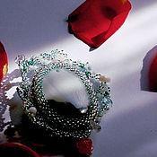 """Украшения ручной работы. Ярмарка Мастеров - ручная работа Брошь """"Ледяное сердце"""". Handmade."""