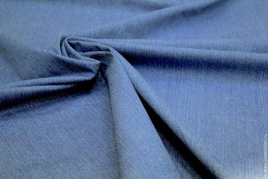 Шитье ручной работы. Ярмарка Мастеров - ручная работа. Купить Итальянская джинса с эластаном. Handmade. Синий, темно-голубой