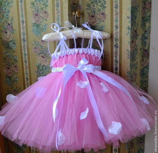 Одежда для девочек, ручной работы. Ярмарка Мастеров - ручная работа. Купить Пышное платье для девочки Адель 2. Handmade. Сиреневый
